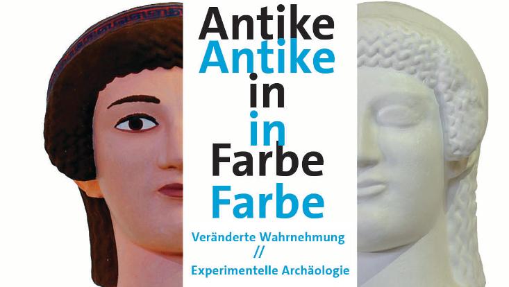 Antike in Farbe Ausstellung